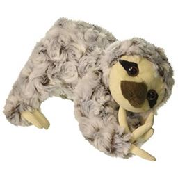 "Sloth Animal Den Plush 8"" H"