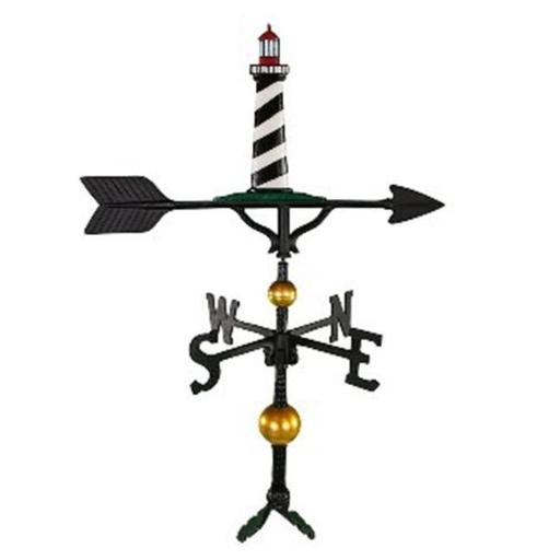 Montague Metal Products WV-393-NC 300 Series 32 In. Deluxe Color Cape Cod Lighthouse Weathervane