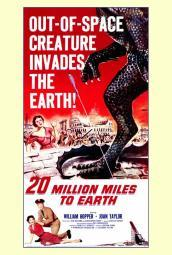 20 Million Miles to Earth Movie Poster Print (27 x 40) MOVAF7182