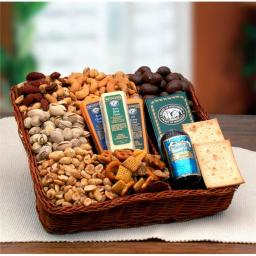 Gift Basket Drop Shipping 852292 Snackers Delight Nut & Snack Tray