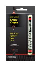 AGS Lith-Ease White Lithium Grease Stick 0.43 oz. - Case Of: 1;