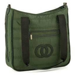 Cozy Coop 2314 Quilted Diaper Bag - Green