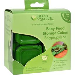 Green Sprouts HG0868356 Food Storage Cubes - Pack of 8