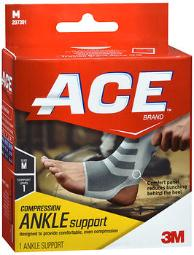 Ace Knitted Ankle Support Medium