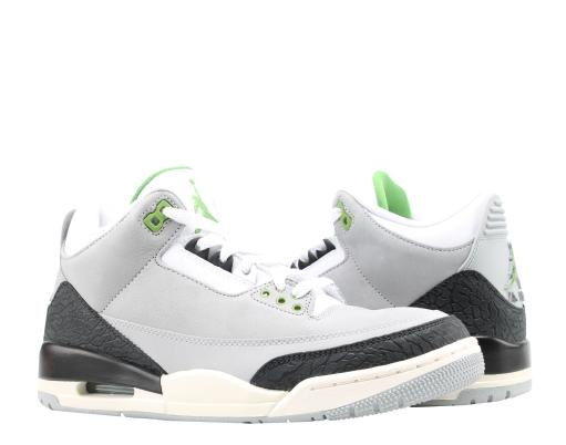 a1d0f903a81321 JORDAN Nike Air Jordan 3 Retro Chlorophyll Men s Basketball Shoes ...