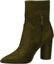 BCBGeneration Women's Ally Fashion Boot, Olive, 9.5 M US