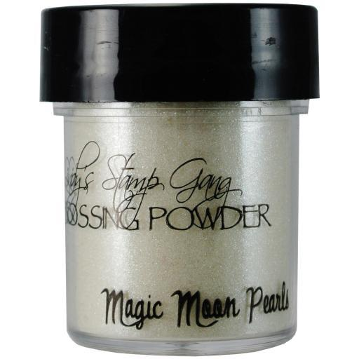 Lindy's Stamp Gang 2-Tone Embossing Powder .5oz-Magic Moon Pearls QNJCNG9B1FSTE9FE