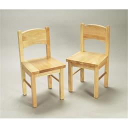 Giftmark 1408N Solid Wood Chair Set Natural Extra Chairs To Go With 1406N Set.