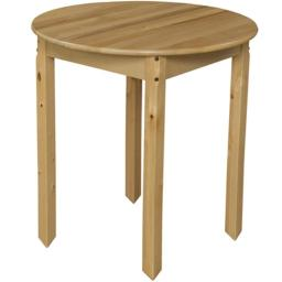 Wood Designs 83029 30 in. Round Hardwood Table With 29 in. Legs