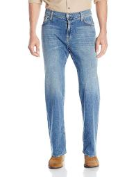 7 For All Mankind Men's Austyn Relaxed Straight Leg Jean in Blue Americana, Blue Americana, 29