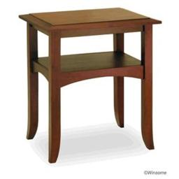 Winsome 94723 Antique Walnut Pine wood TABLE END TABLE