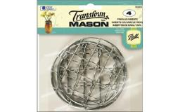 Bll1026276 ball transform mason lid insert regular frog 4pc