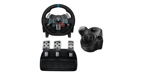 57161423451 Logitech Logitech G29 Driving Force Racing Wheel Dual Motor Force ...