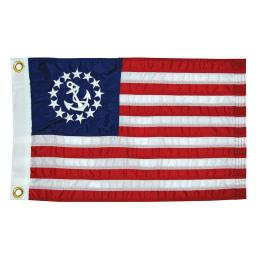 Taylor Made 12X18 Deluxe Sewn Us Yacht Ensign Flag