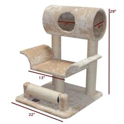 Majestic Pet Products 788995780489 29 in. Casita Cat Tree - Fur