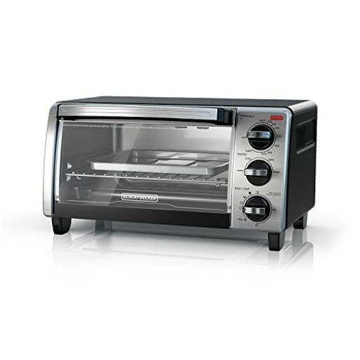 Spectrum brands to1750sb b & d 4 slice toaster oven ssblk