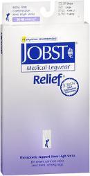 Jobst Medical LegWear Knee High 30-40 mmHg Extra Firm Compression Beige Close-Toe #114632 BS114632