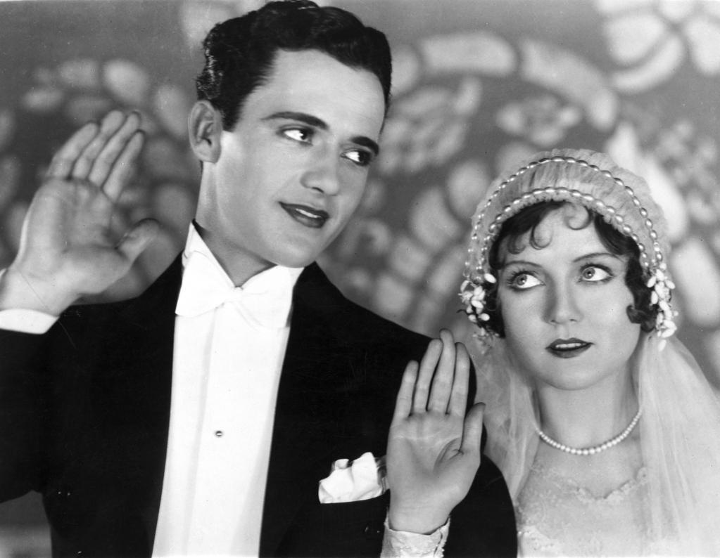 A publicity still of Nancy Carroll as a bride Photo Print