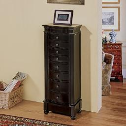 Muscat 8 Drawer Jewelry Armoire