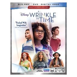 Wrinkle in time (2018/blu-ray/dvd/combo/digital) BR147687