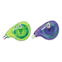 Papermate 6137206 DryLine Correction Tape  Non-Refillable  1/5'' x 472''  2/Pack