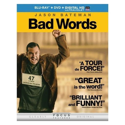 Bad words (blu ray w/dvd/digital hd w/ultraviolet) 1289424