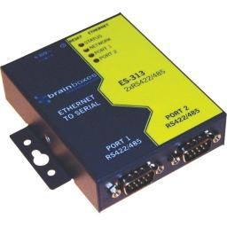 Brainboxes es-313 2port rs422/485 ethernet to
