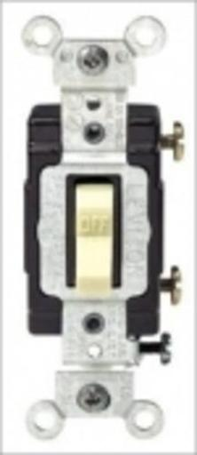 Leviton So1-cs115-2is Commercial Grade Quiet Toggle Switch, 15amp, Ivory
