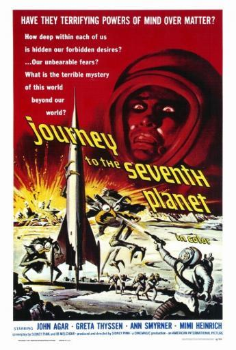 Journey to the Seventh Planet Movie Poster Print (27 x 40) NHHPPOHZSR1XHCPC