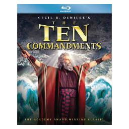 Ten commandments (1956) (blu ray) (2.0 dol dig/5.1 dol dig/ws/eng/re-releas BR59160079