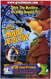 Great Mouse Detective, The Movie Poster (27 x 40) MOVAF4452