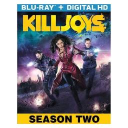 Killjoys-season two (blu ray w/digital hd) (2discs) BR61185654