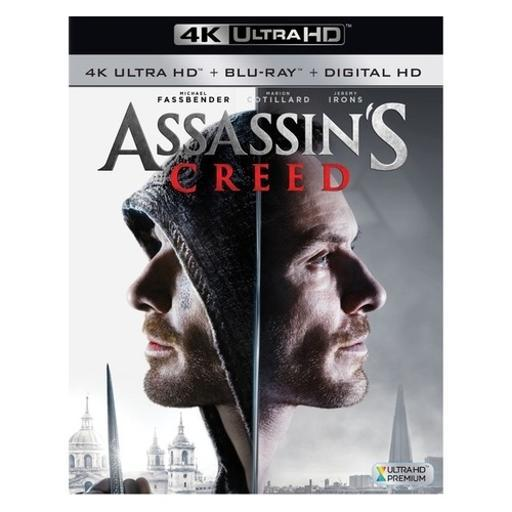 Assassins creed (2016/blu-ray/4k-uhd) 5YKNLN4FARNJOYEJ
