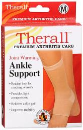 Therall Joint Warming Ankle Support - Medium, Pack of 4