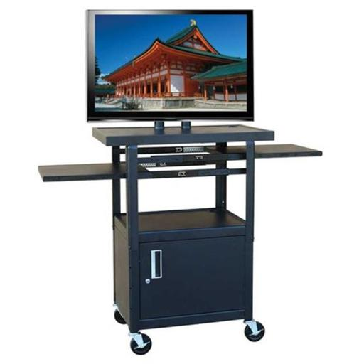 Buhl Industries PLCAB4226E Wide Body Flat Panel TV Cart with Locking Cabinet BD2AZMEO9KAPT9CH