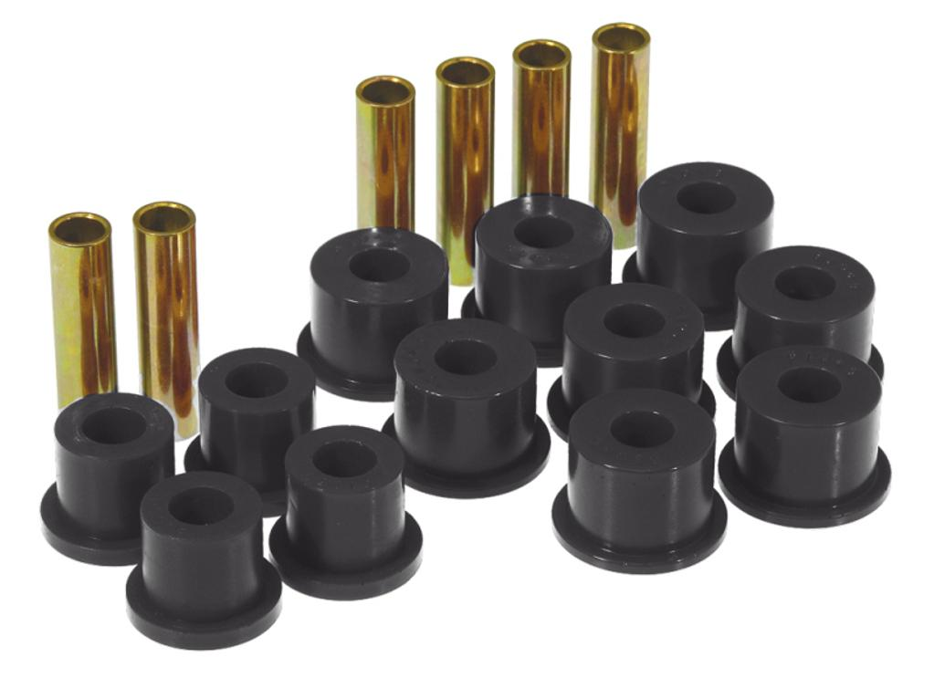 Prothane 88-98 GM 2/4wd Rear Spring & Shackle Bushings - Black