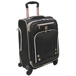 Luggage America AF-8922-BK Olympia 22'' Skyhawk Expandable Carry-on
