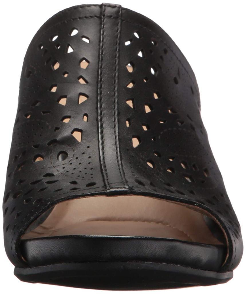 3f02d3cc7224 Naturalizer Naturalizer Womens Peep Toe Casual Mule Sandals ...