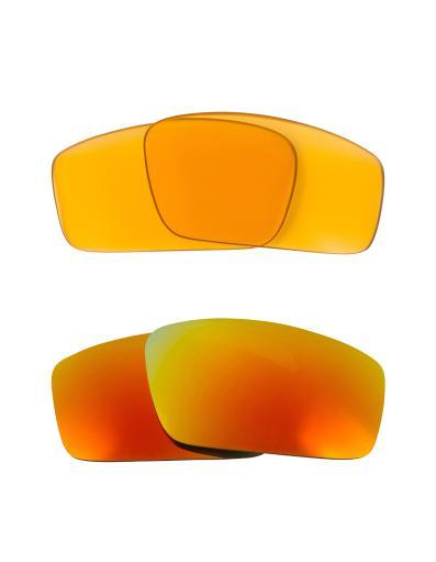 Best SEEK Replacement Lenses for Oakley SQUARE WIRE (2006) Amber Yellow Mirror