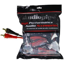 Audiopipe amf-17 audiopipe 17ft oxygen free rca cable - 10pcs per bag