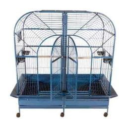 a-e-cages-ae-6432b-double-macaw-cage-black-399cfd6450131b77