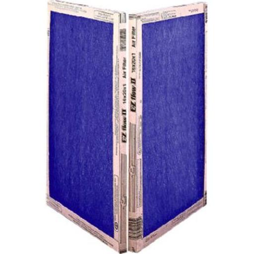 Flanders 10055.012025 20 x 25 x 1 in. EZ Flow II Spun Fiberglass Disposable Furnace Filter - Pack Of 12 956AD760FC6A810C