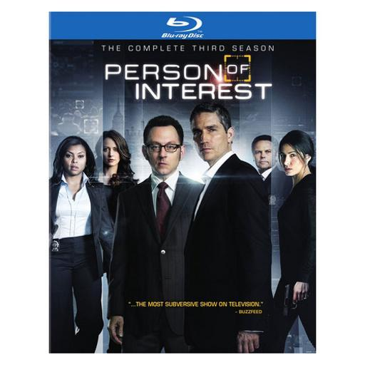 Person of interest-complete 3rd season (blu-ray/4 disc) 1284878