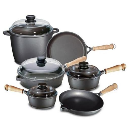 Berndes Tradition 10 Pc Cast Aluminum Non-stick Cookware Set