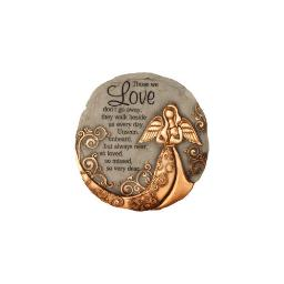 Spoontiques 13260 9 stepping stone  bronze angel