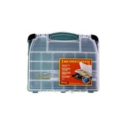 Plano 3950-10 plano double cover tackle box green 3950-10