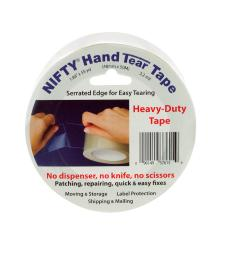 Nifty Hand Tear Tape 2 in. W x 1980 in. L Tape Clear - Case Of: 1;