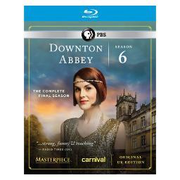 Downton abbey season 6 (blu-ray/3 disc) BRMST6460