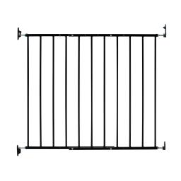 Kidco g2001 black kidco safeway wall mounted pet gate black 24.75 - 43.5 x 30.5