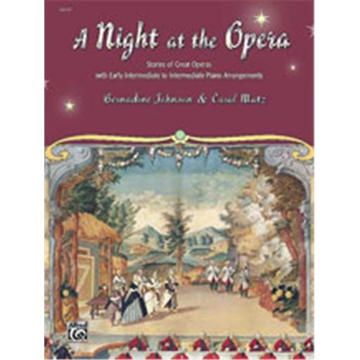 Alfred 00-22543 A Night at the Opera - Music Book